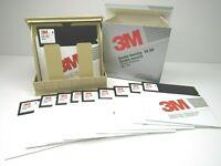 "Vintage Mini Kas-Ette Library Case Floppy Disk Storage Box 10 - 3M 5 1/4"" Disks"