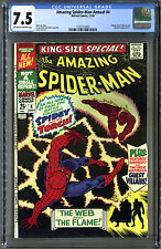 Amazing Spider-Man (Marvel, 1967) King-Size Annual #4, CGC 7.5! 3rd Ap. Mysterio