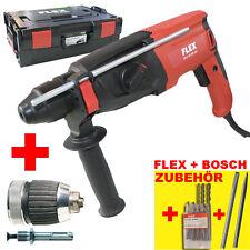 FLEX Meißel- Bohrhammer CHE 2-28 SDS-plus DFV + Bosch Bohrer + Meißel Nr.413.666