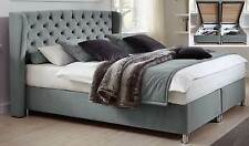 Hapo Diamond Bett mit Stauraum Doppelbett mit Bettkasten Polsterbett Komfortbett