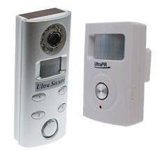 Battery Powered 3G GSM UltraPIR Alarm & Battery Video Silver Recording Alarm