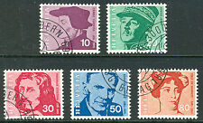 Historical Figures Used European Stamps