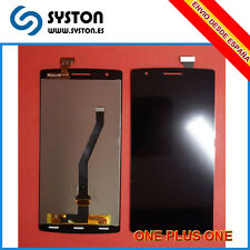 Pantalla COMPLETA Display lcd + tactil ONEPLUS ONE PLUS ONE NEGRO NEGRA