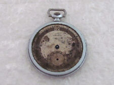for Repairing or for Spare Parts La Rochette Antique Swiss Men's Pocket Watch