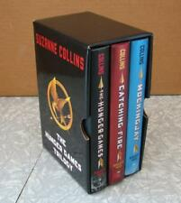 The Hunger Games Trilogy Hardcover Books Boxed Set by Suzanne Collins