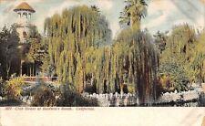 """Arcadia California~Elias """"Lucky"""" Baldwin's Ranch~Club House~Weeping Willows~1909"""