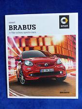 Smart Brabus - fortwo forfour Cabrio - Prospekt Brochure 07.2016