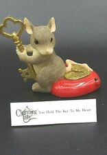 Charming Tails You Hold The Key To My Heart 79/18 Ltd Club Ed 2000