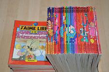 lot  35 livres J'AIME LIRE mensuels anciens parmi les n°50 à 124