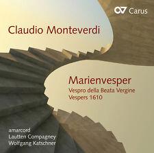 Monteverdi / Amarcord / Katschner - Marienvesper [New CD]