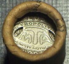 """SCARCE 1950'S ORIGINAL WRAPPED MTA TOKENS BY JOHNSON CO"""" ONLY ONE ON EBAY LQQK!!"""