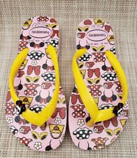 New listing Toddler Girls Havaianas Minnie Mouse Flip Flop Sandals Size 9C