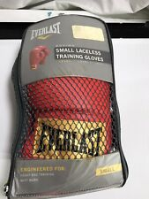 Everlast Laceless Training Gloves - Size Small - Boxing New Condition
