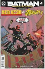 Batman #1 Wedding Prelude Red Hood vs. Anarky DC comic 1st Print 2018 NM