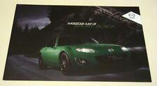 Mazda . MX-5 . The Mazda MX-5  Sport Black . 2011 Sales Leaflet