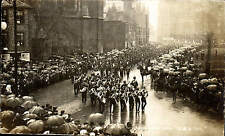 York Military Sunday April 30th 1905 # 228 by C & A. Soldiers Marching. Rain.