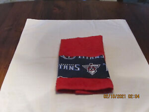 Handmade NFL Tennessee Titans Red Hand Towels