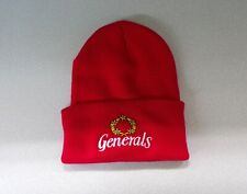 USFL Football New Jersey Generals Embroidered Cuffed Beanie Hat Cap New