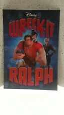 "Disney Movie Club 3D Lenticular Movie Collector's Card ""Wreck-It Ralph"""