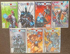 Cyborg #1,2,3,4,10,11,12 DC Comics 2015 Teen Titans lot Nm