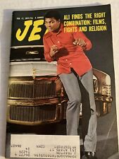 Vintage Jet Magazine Feb 17, 1977: Ali Finds The Right Combination: Films, Fight