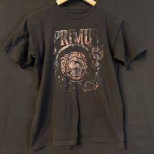 Primus Tour Monkey Ape Mens Sz S Astronaut Chimp Les Claypool Music Tee Black