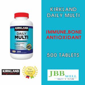 Kirkland Signature Daily Multi Vitamins - 500 Tablets Exp. 05/23