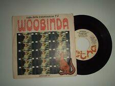 "Riccardo Zara E Le Mele Verdi / Woobinda – Disco Vinile 45 Giri 7""  Italia 1978"