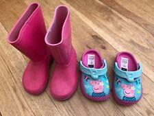 Girls Bundle Of Shoes Size 4-5 Clark's <D2775