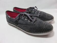 KEDS Gray Soft Textile Sneakers Women's Size 8 Medium EUC