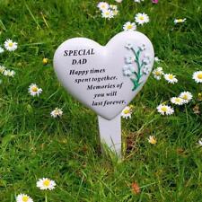 Special Dad Heart Memorial Stake Funeral Graveside Garden DF17519D