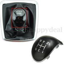 new Black 5-Speed Gear Stick Knob Insert Cap Cover For Ford Fiesta Focus C Max