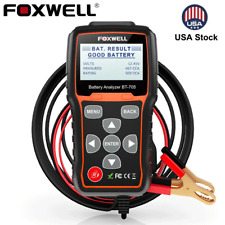 Foxwell BT705 12V 24V Car&Truck Battery Tester Charging System Battery Analyzer