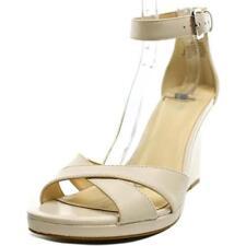 Zapatos de tacón de mujer Nine West de tacón alto (más que 7,5 cm) de color principal crema