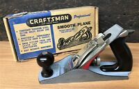 "Craftsman Smooth Plane 9"", 2"" Cutter, Nearly Mint in Original Box"