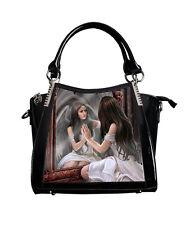 Anne Stokes Handbag Magic Mirror Fairy 3D Black Fantasy Gothic Lenticular Bag