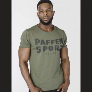 Paffen Sport Military T-Shirt. Gr. S-XXL. Sport, Boxen, Fitness, Freizeit, Slim,