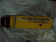Socapel Socasin ST1 Sinus Power 80.310.A AC Servo Drive Tested Good.