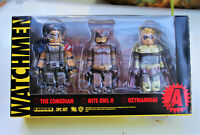 NEW, MIB, THE WATCHMEN Figure Kubrick Set A COMEDIAN, NITE OWL II & OZYMANDIAS