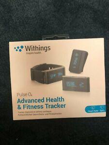 Withings Pulse O2 Advanced Health & Fitness Tracker NIB