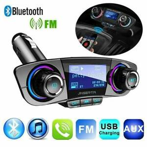 Wireless Bluetooth Handsfree Car Kit FM Transmitter MP3 Player USB Charger AUX F
