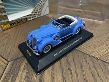 Ixo Museum Packard Victoria Convertible hellblau Blue IXOMUS075 1/43 Scale Model