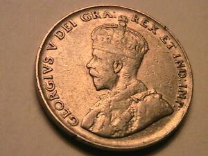 1936 Canada 5C XF Lustrous Untoned Original Nickel Five Cent Canadian Coin