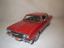 """Ertl/Authentics  Chevrolet  Chevelle  Malibu   """"1965""""  (rot) 1:18 ohne Vp.!"""