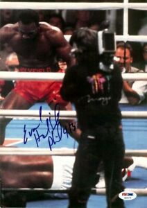 Evander Holyfield Autographed Signed Magazine Page Photo PSA/DNA COA S49179