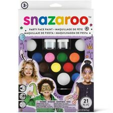 Snazaroo Fancy Dress Ultimate Party Pack Face Painting Kit Make Up Paint Set New