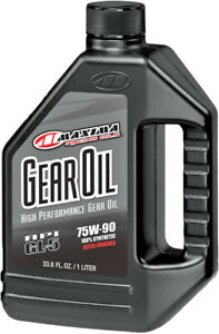 MAXIMA 75W-90 Hi-Performance Full-Synthetic Ester Gear Differential Oil Lube 1L