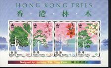 Hong Kong MNH  Scott  526a Souvenir sheet Value $ 16.00 HK  Trees