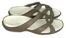 Women's Crocs Sandals Tan Size 8