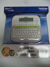 Bonus Free Tape Brother P Touch Pt D210 Label Maker One Touch Keys Multiple Font